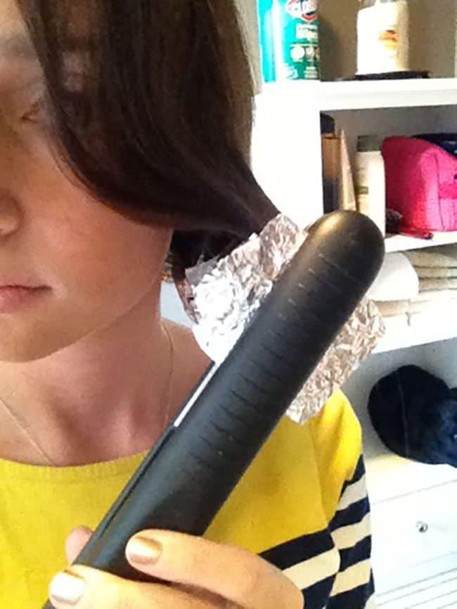 Effective Hair Care Tips foil curls
