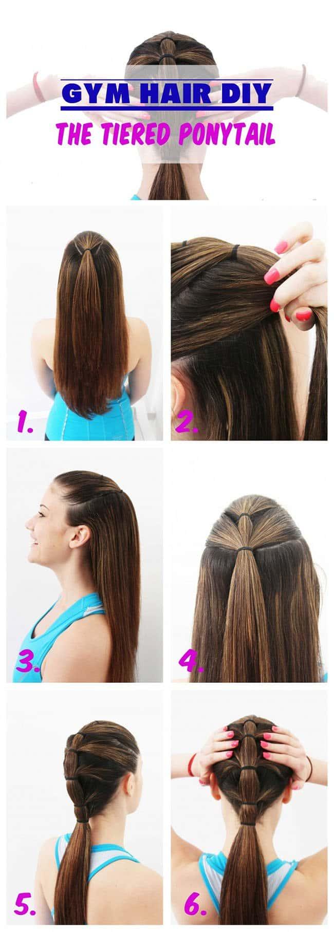 Effective Hair Care Tips gym hair
