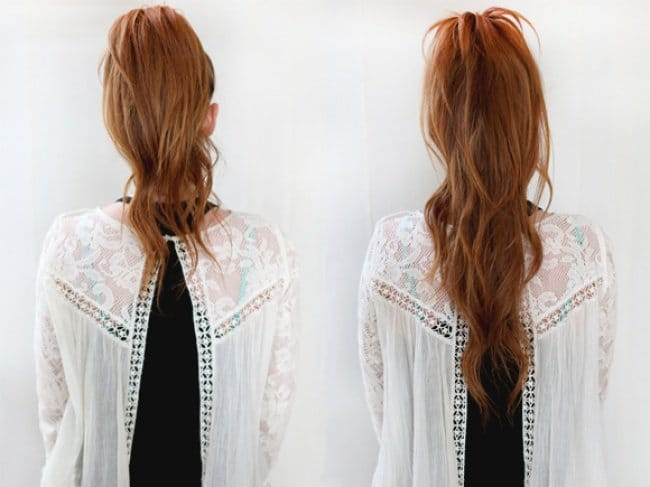 Effective Hair Care Tips longer ponytail