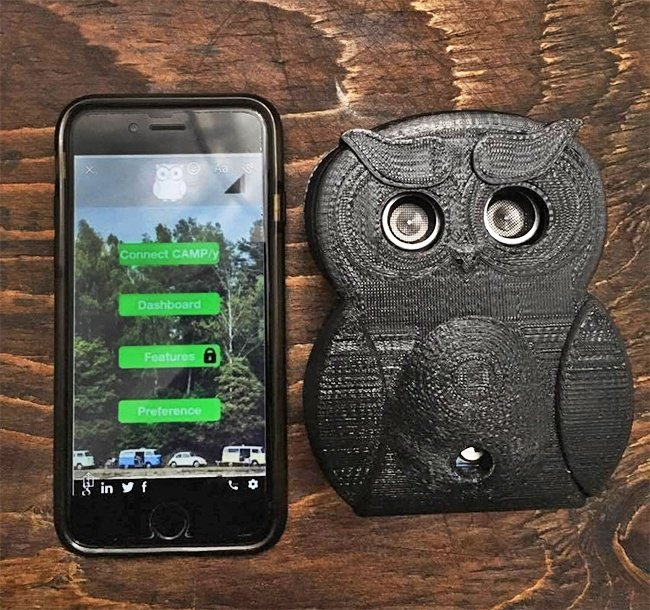 Gadgets That Could Save Your Life owl camera
