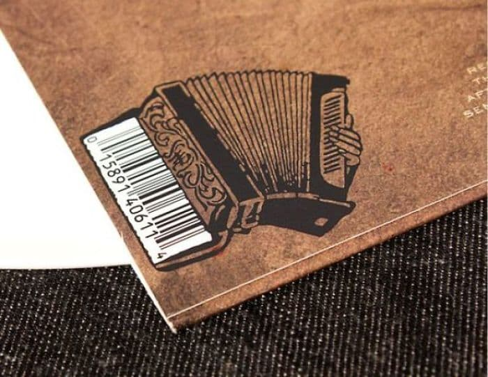 Genius Barcode Designs accordion