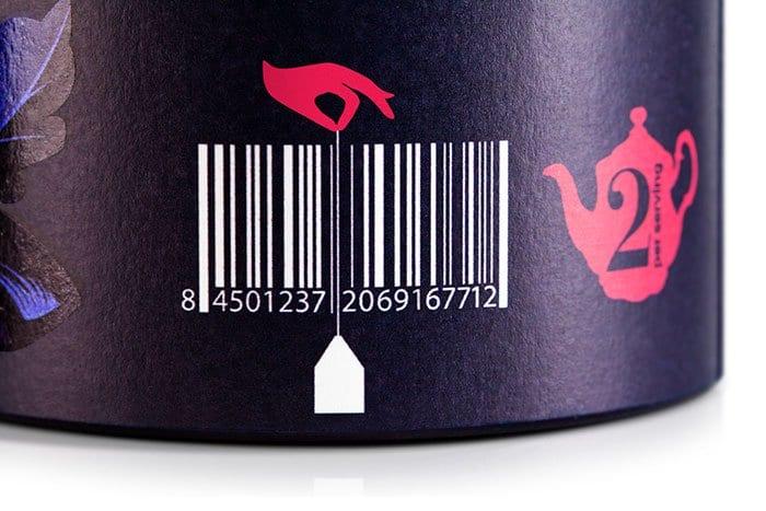 Genius Barcode Designs gaiety tea