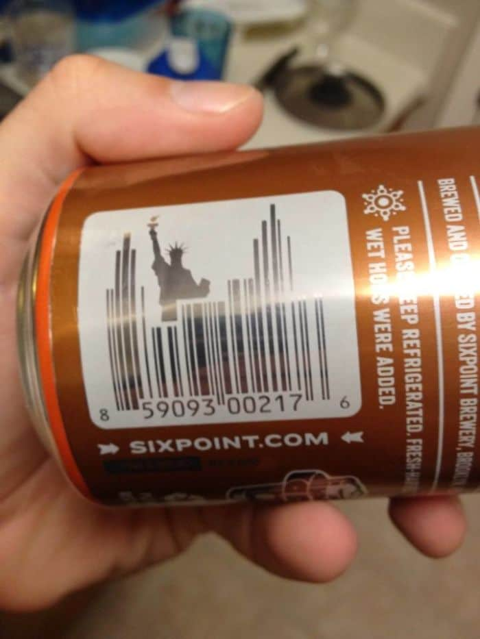 Genius Barcode Designs nyc skyline