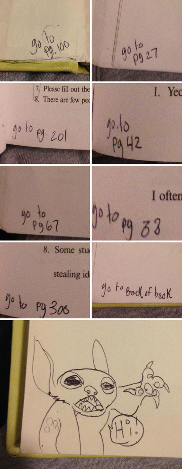 Genius Textbook Vandalism stitch hi