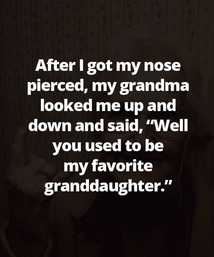 Honest Grandmas used to be my favorite grandaughter