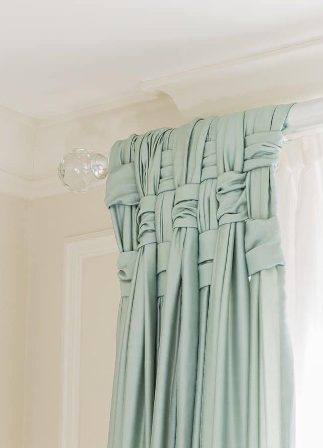 How Make Your Apartment Look Great braided curtains