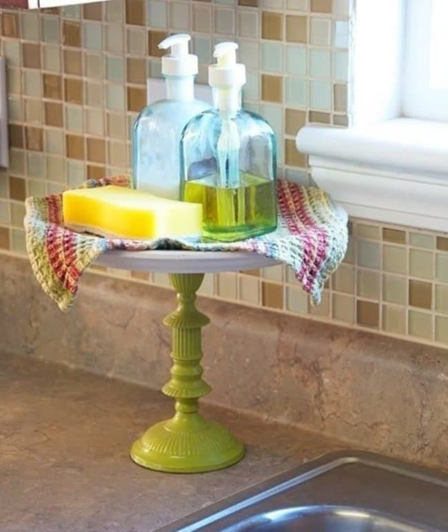 How Make Your Apartment Look Great cake stand