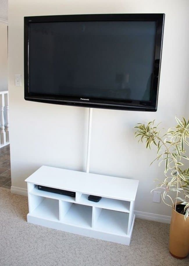 How Make Your Apartment Look Great conceal cables