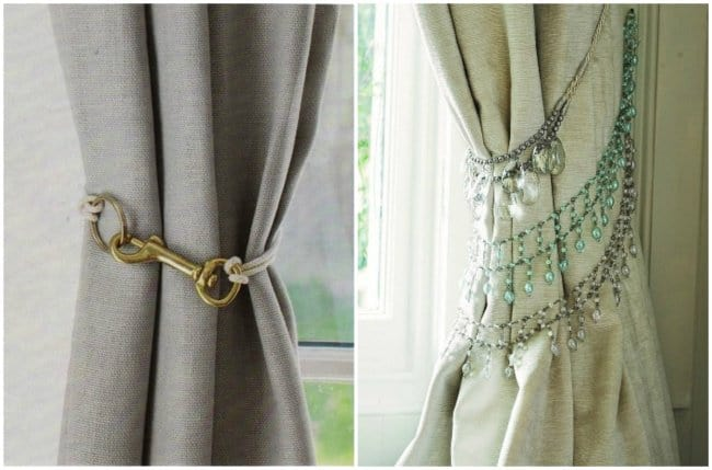 How Make Your Apartment Look Great curtain holders