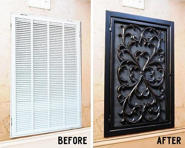 How Make Your Apartment Look Great decorative vent