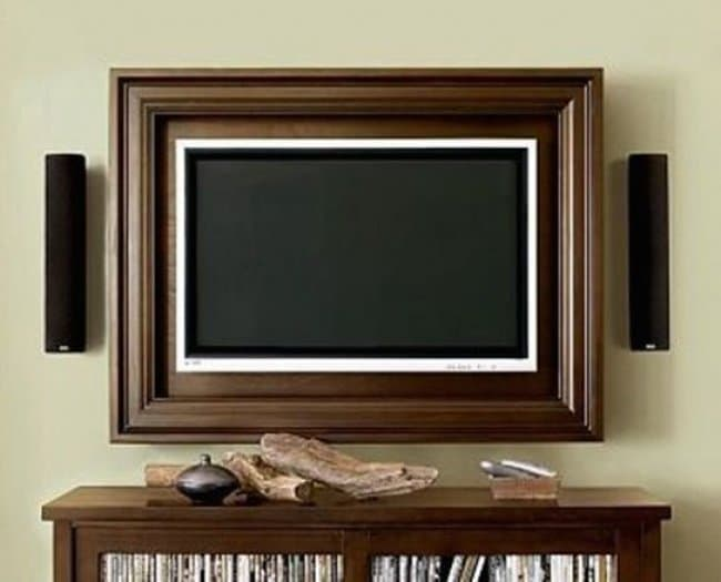 How Make Your Apartment Look Great tv picture frame