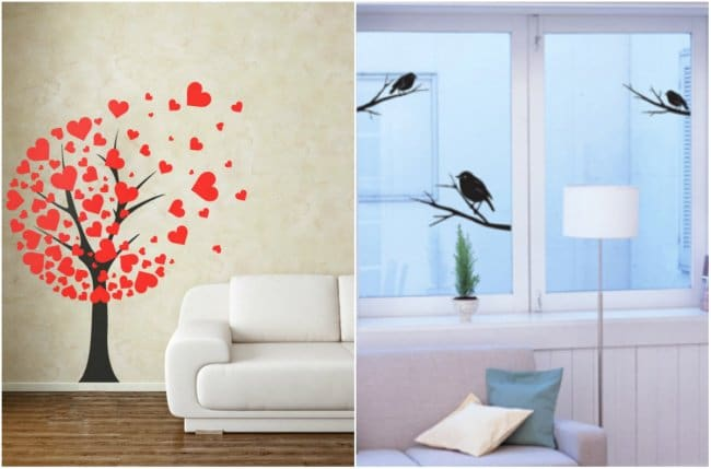 How Make Your Apartment Look Great wall stickers