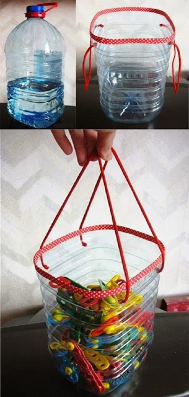 Ideas For Reusing Plastic Bottles bottle bag