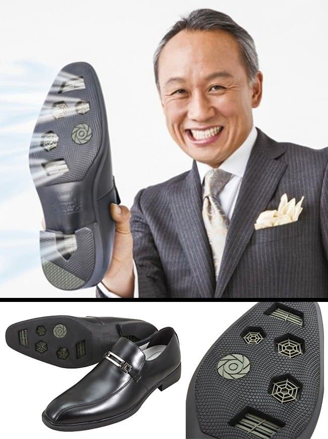 Ingeniously Weird Gadgets air conditioned shoes