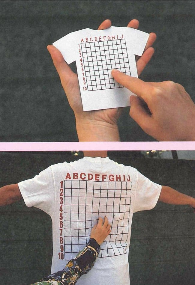 Ingeniously Weird Gadgets back scratch chart tshirt