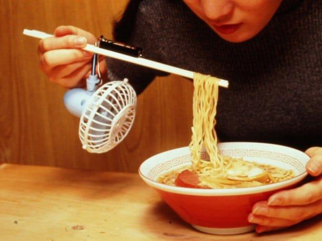 Ingeniously Weird Gadgets chopstick fan