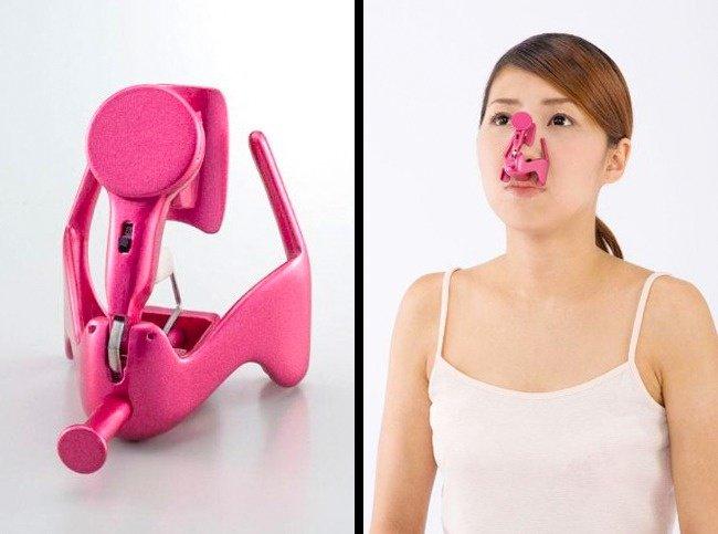 Ingeniously Weird Gadgets nose lifter