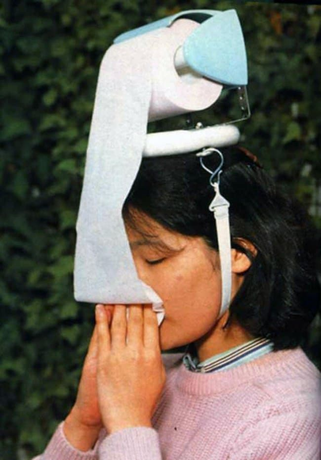 Ingeniously Weird Gadgets tissue holder head