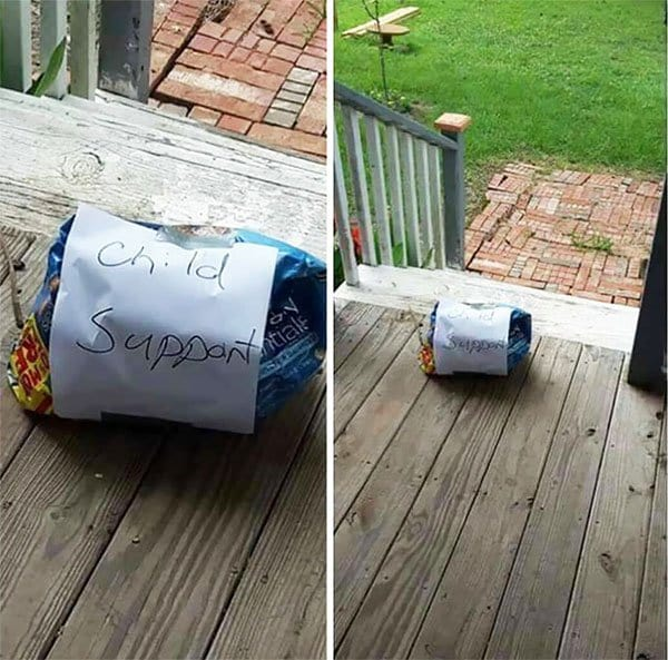 Interesting Neighbors child support