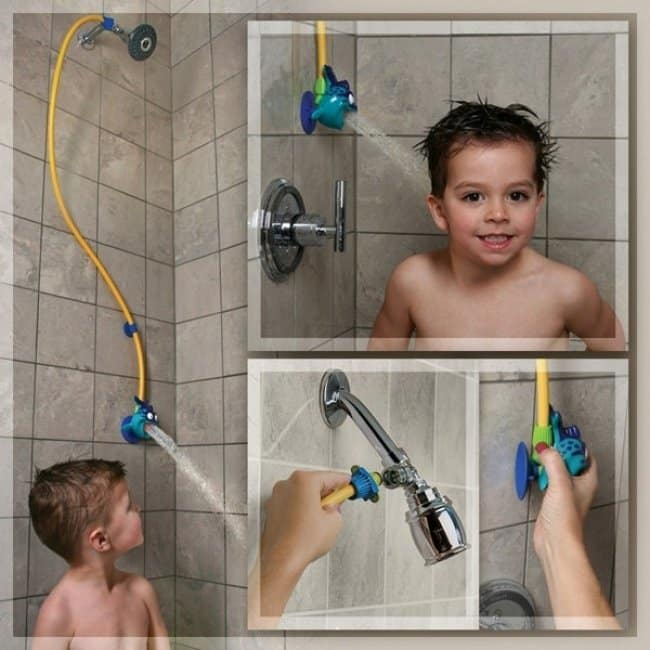 Inventions For Parents childs shower head