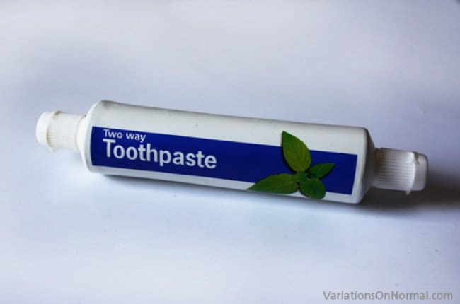 Inventions For Your Home two way toothpaste