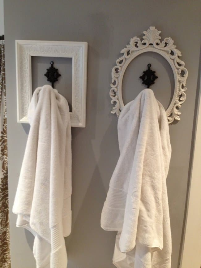 Low Cost Ways To Transform Your Home bathroom frames