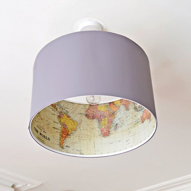 Low Cost Ways To Transform Your Home imaginative lampshades