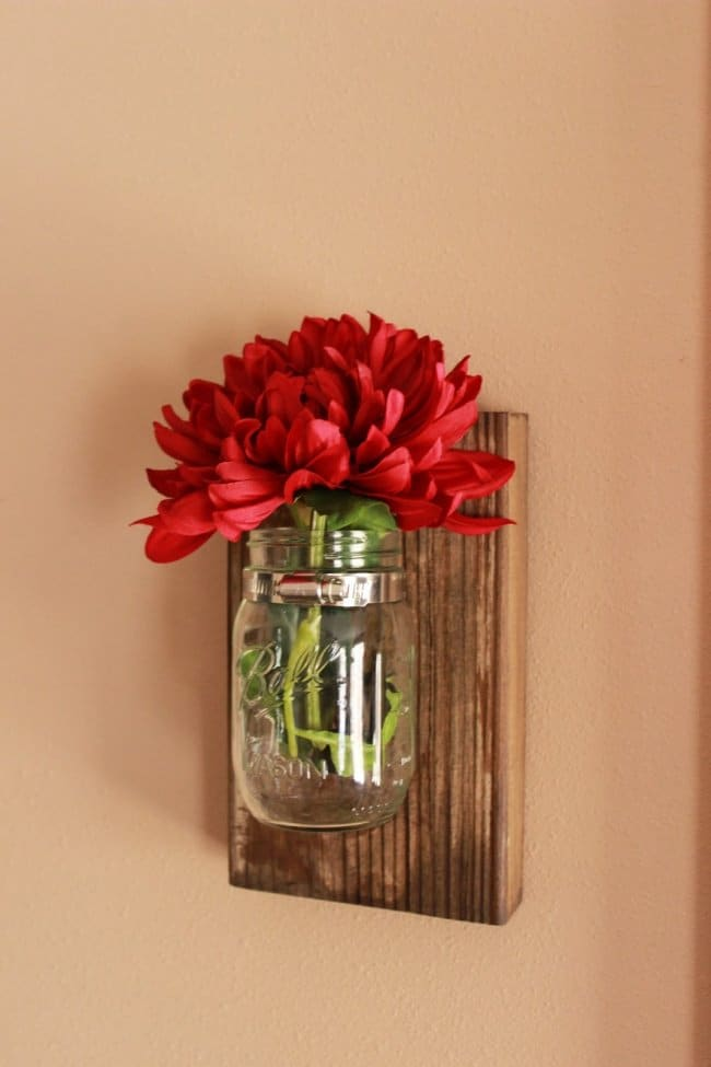 Low Cost Ways To Transform Your Home mason jar wall decorations