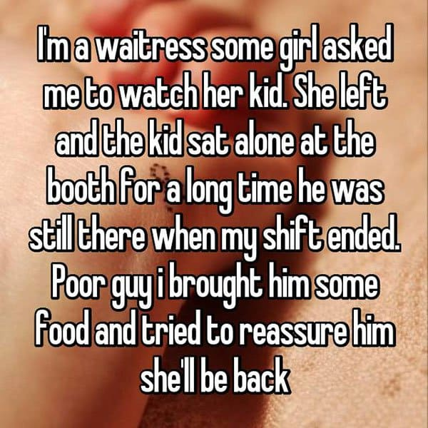 Outrageous Requests From Customers watch her kid