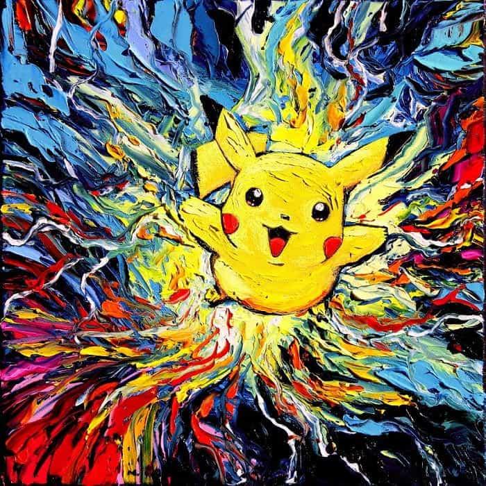 Painting Mistaken For A Van Gogh aja kusick pokemon