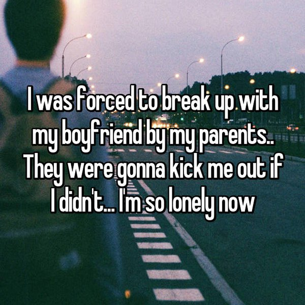 People Confess Why They Ended Their Relationships kick me out