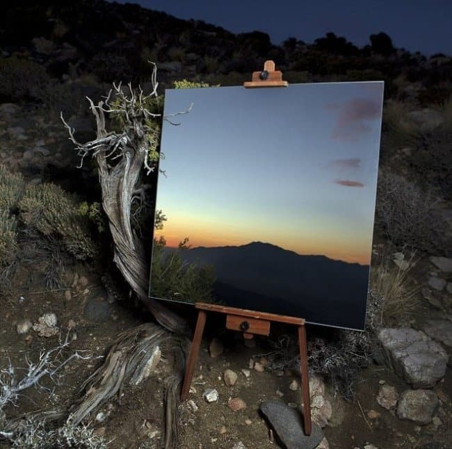 Photos That Will Make You Do A Double Take mirror not canvas
