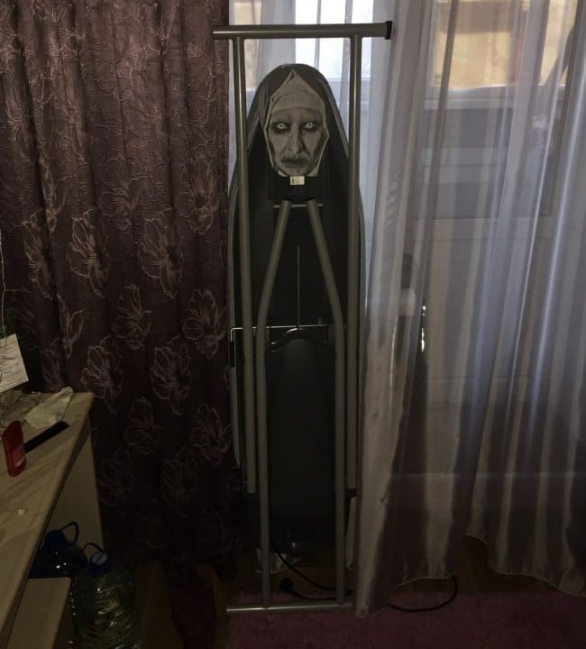 Photos That Will Make You Do A Double Take scary ironing board