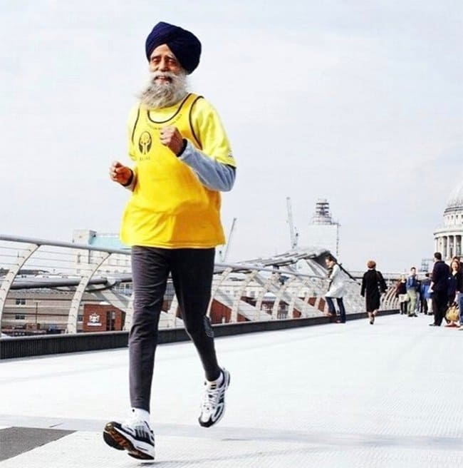 Strength Of The Human Spirit 100 year old runner