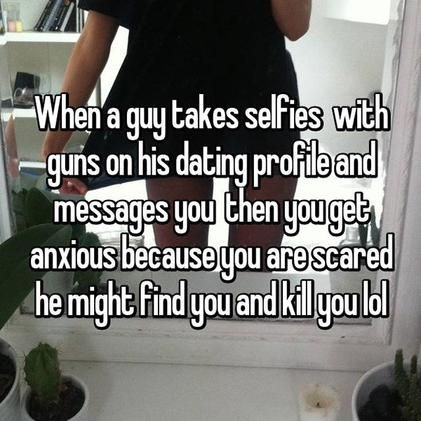 Things You Should Not Put On Dating Profiles guns