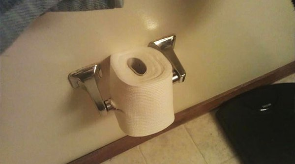 Times Living With Roommates Was The Worst ruined toilet paper