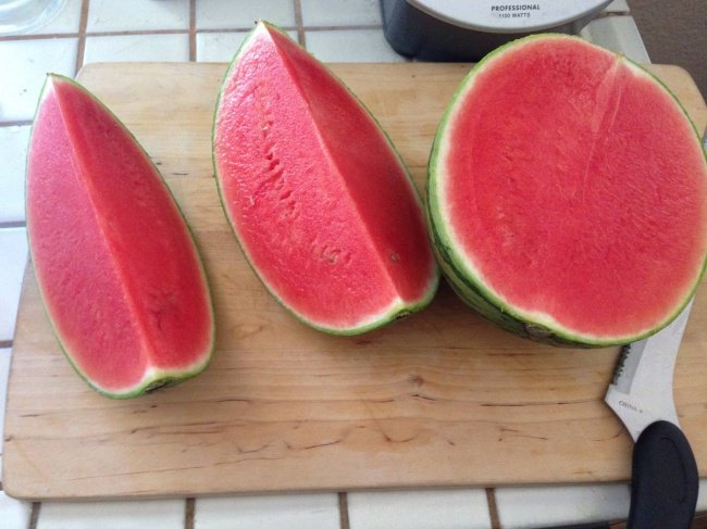 Times Lucky People Hit The Food Jackpot perfect watermelon