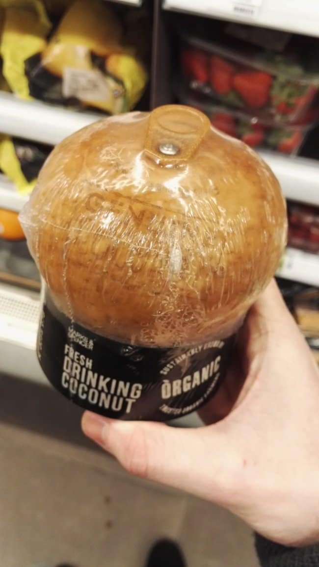 Times Something Strange Happened To Our Food coconut with pull tab