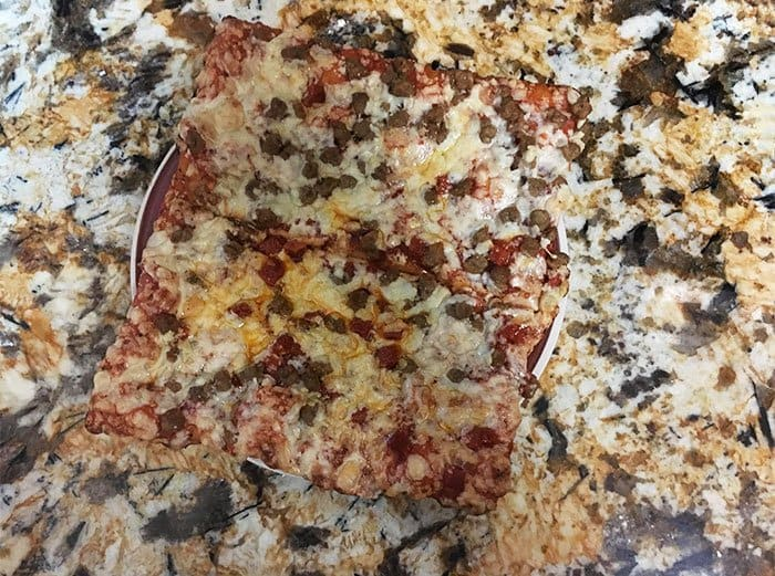 Times Things Matched Their Surroundings pizza countertop