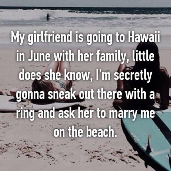 Unique Marriage Proposals hawaii