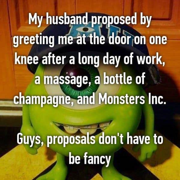 Unique Marriage Proposals monsters inc