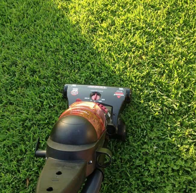 Useless Yet Ingenious Pieces Of Advice vacuum lawn