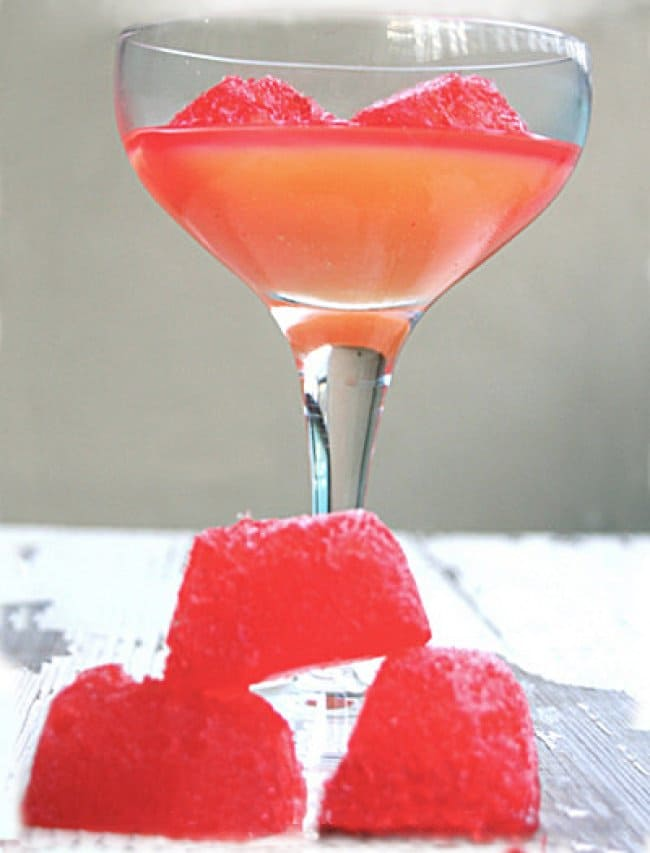 Ways To Use Ice Cube Tray grenadine