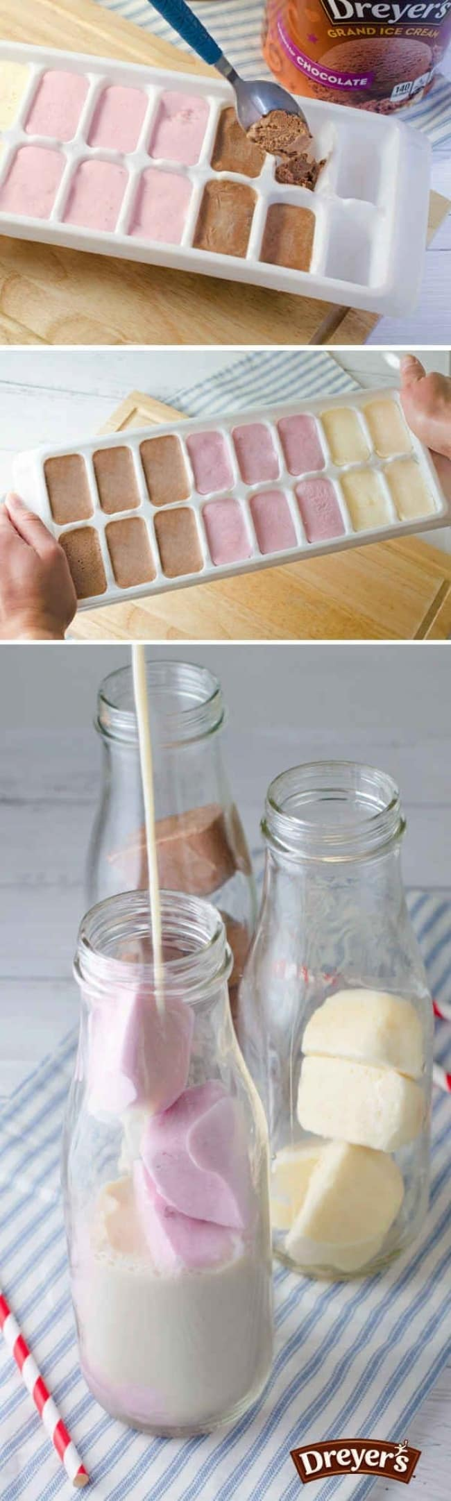 Ways To Use Ice Cube Tray ice cream