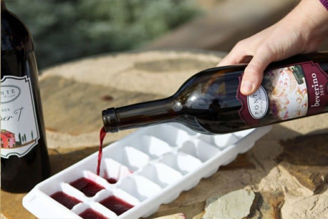 Ways To Use Ice Cube Tray wine