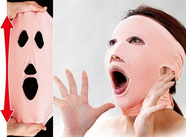 Weird Inventions For Women anti wrinkle bandage