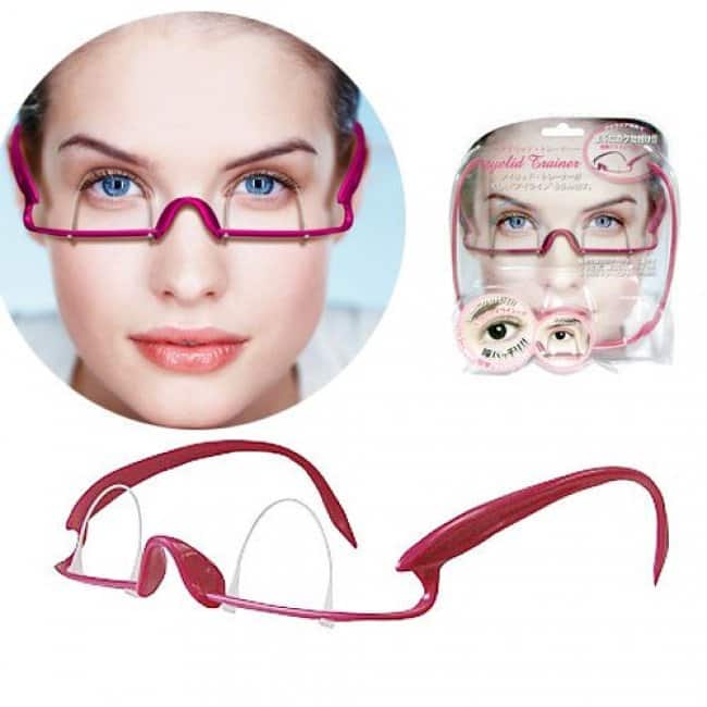 Weird Inventions For Women eyelid device