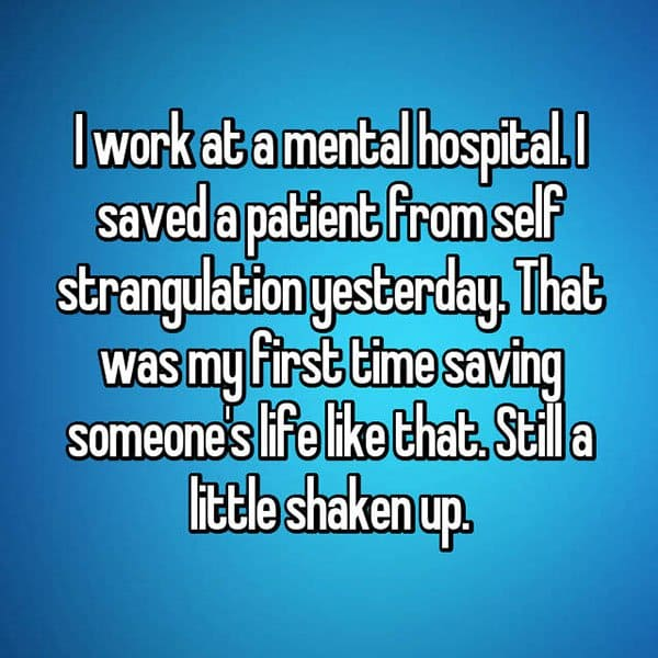 What It's Like To Work At A Psychiatric Hospital shaken up