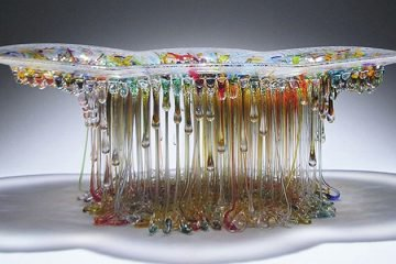 jellyfish glass tables