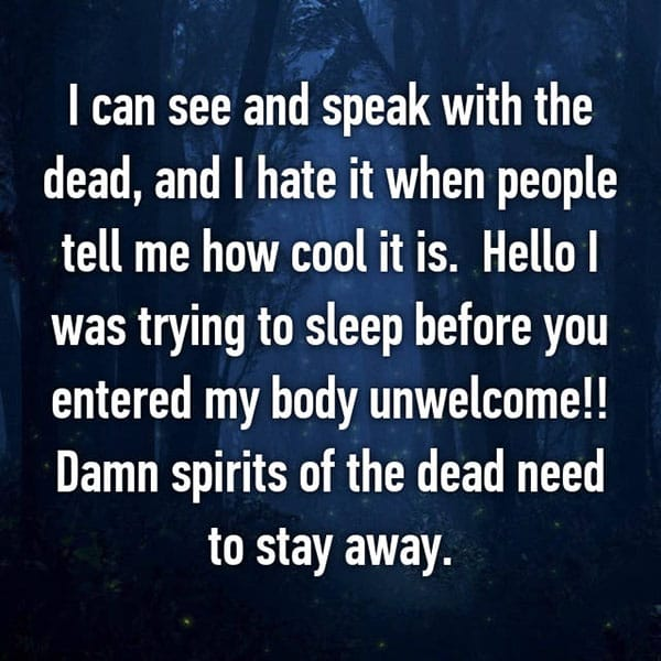 occasions where people communicated with ghosts cool it is